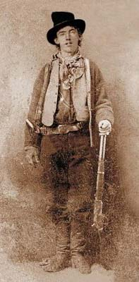 Billy the Kid's only known photo