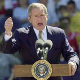 George W. Bush: dumb and crazy, too
