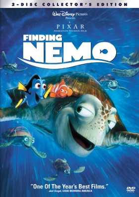 Finding Nemo DVD cover